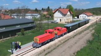 EU funds have been used to build the miniature railroad that has 40-50 passengers per day