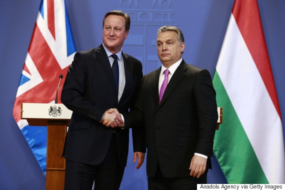 David Cameron - Viktor Orban