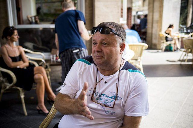 István Kozár Photo:  Pál Anna Viktória / 24.hu