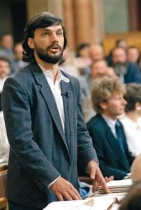 Viktor Orbán, cca 1990
