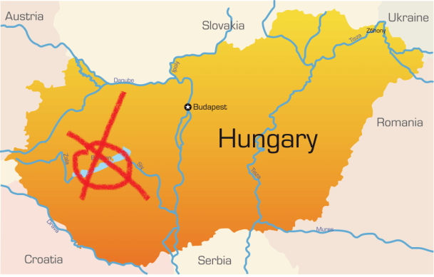 HungaryMapa