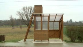 No Funding for Bus Shelters? Let's Build a Lookout Tower! In the BusStop.