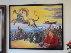 Daily Art: Remorseful Angela Helps Migrants Rape Europa (plusFreemasons)