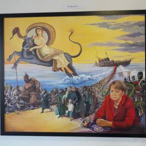 Daily Art: Remorseful Angela Helps Migrants Rape Europa (plus Freemasons)