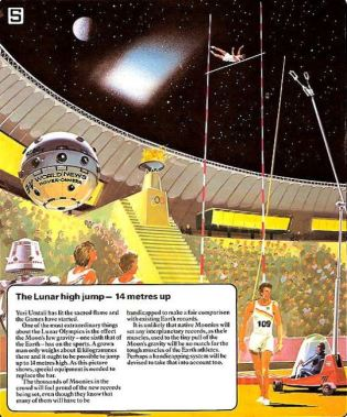 Olympic Games on the Moon in 2020 (1979)d