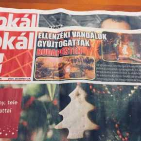 15/16 pages in Orbán's paper contain only ads