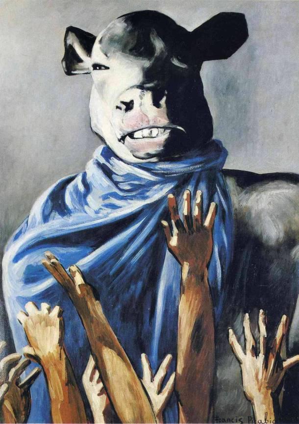 Francis Picabia Calf worship
